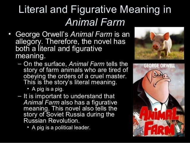 A Satire Of The Russian Revolution In Animal Farm By George Orwell