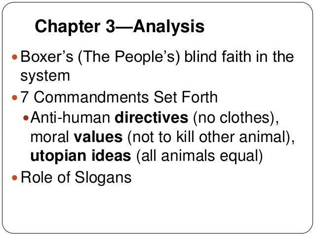 Animal Farm Chapter 2-3 and Character Connections