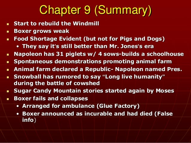 animal farm point of view