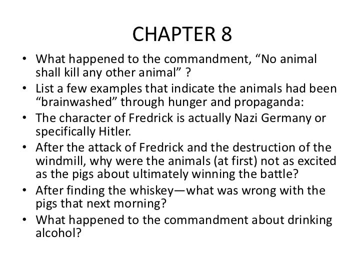 animal farm chapter questions 4
