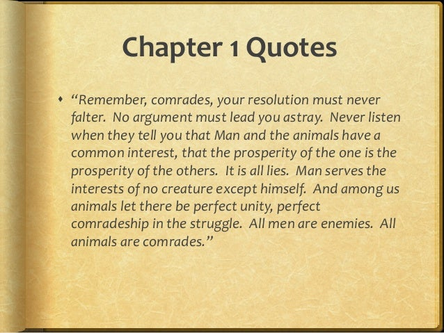 Animals Quotes Unique Animal Farm Chapter Quotes