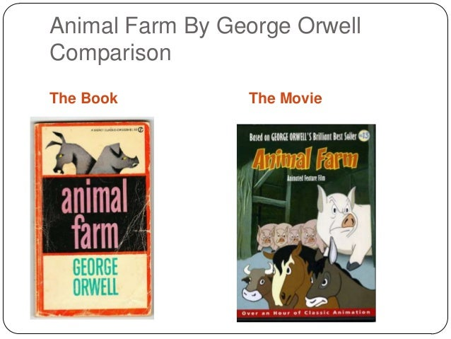 the use of foreshadowing in animal farm a novel by george orwell George orwell's use of allusion is best seen in his novel 1984 the use of metaphor is best seen in the book animal farm by george orwell.