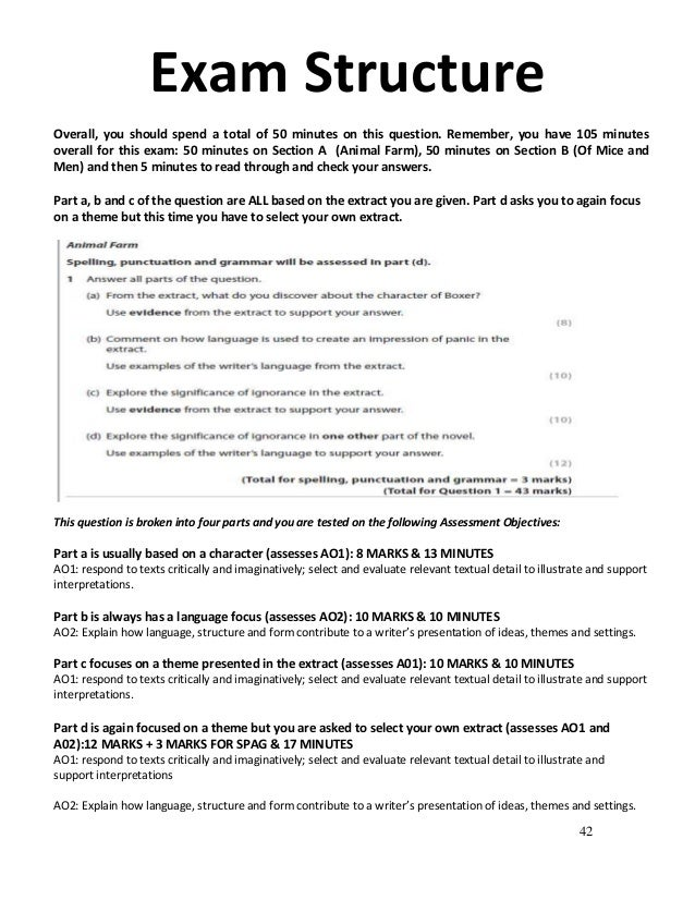 animal farm essay questions and answers This novel unit student packet is designed to be used with the the sold-separately animal farm novel units teacher's guide the book animal farm by george orwell must be purchased separately.