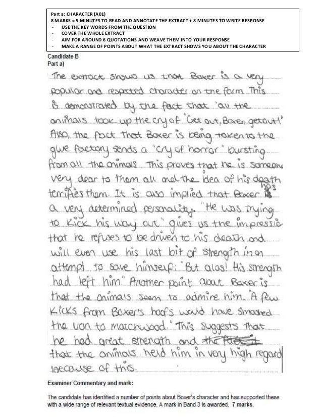 essay of animal farm