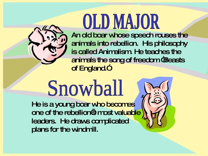 animalism versus marxism in george orwells animal farm George orwell was one of the most important writers in twentieth century   soviet union was established based on marxist and leninist ideas  as  animalism in the novel that argues all animals are equal and must revolt.