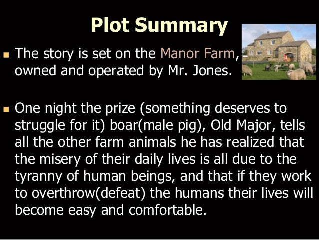 animal farm book summary pdf