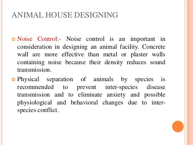 Animal House Managemant