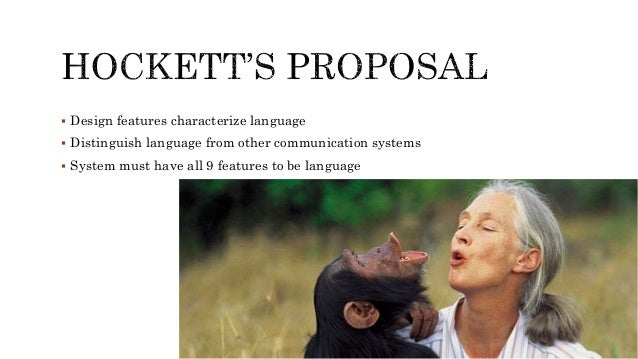 Animal & human language ppt.