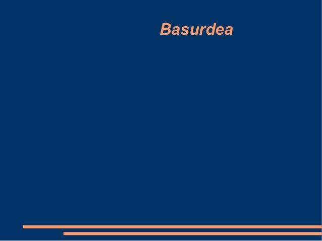 Basurdea