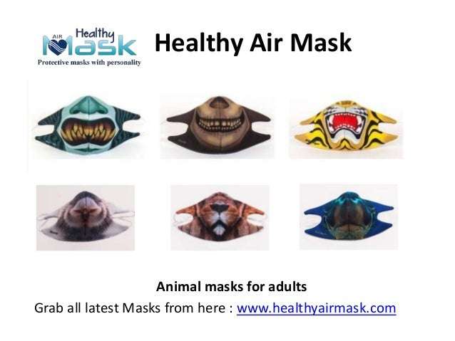 Healthy Air Mask Animal masks for adults Grab all latest Masks from here : www.healthyairmask.com