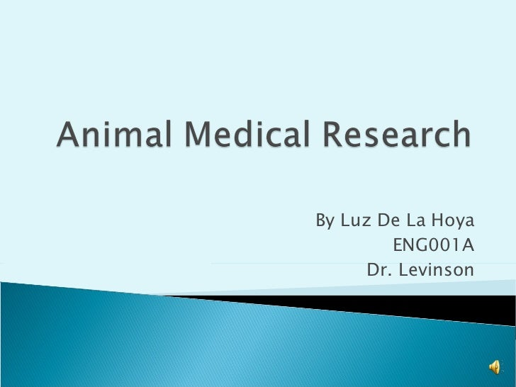 a review of animal medical research Medical research with animals is one type of medical research research with animals experts who review a scientist's proposed who does medical research with animals medical researchers who have phd, dvm.