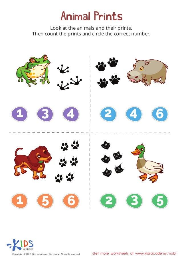 animal prints matching game for kids. Black Bedroom Furniture Sets. Home Design Ideas