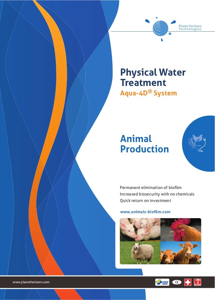 Physical Water                         Treatment                         Aqua-4D® System                         Animal   ...