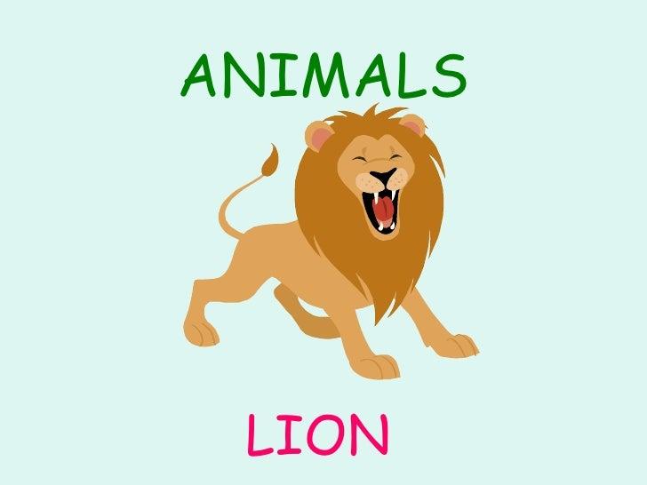 Animals Slide 2