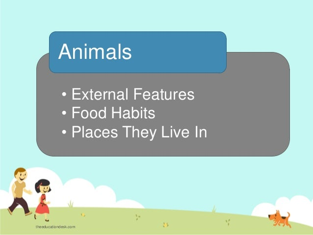 Environmental Science (EVS) : Animals (Class II)