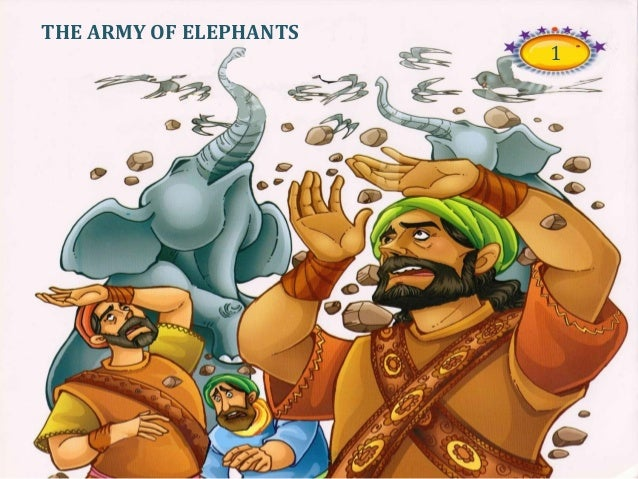 Image result for white elephant abraha the army of elephants