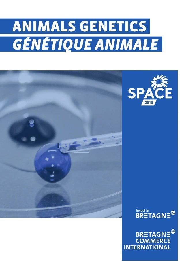 ANIMALS GENETICS GÉNÉTIQUE ANIMALE