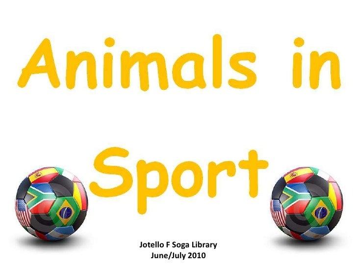 Jotello F Soga Library<br />June/July 2010<br />