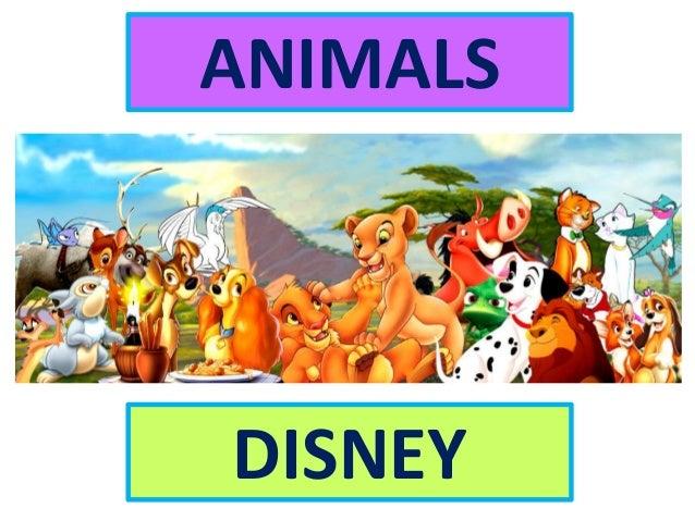 ANIMALS DISNEY