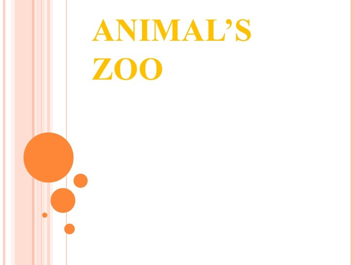 ANIMAL'S ZOO