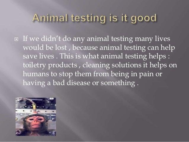 animal testing saves lives