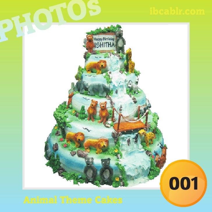 ibcablr.com                             001 Animal Theme Cakes