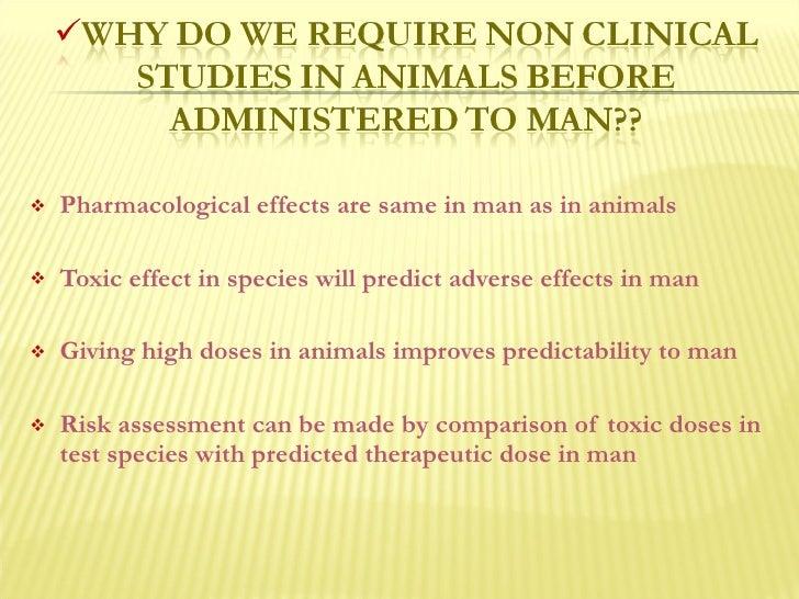 Animal toxicology studies Slide 3