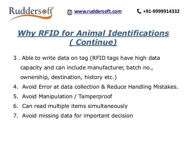 UHF RFID BASED ANIMAL TRACKING SYSTEM