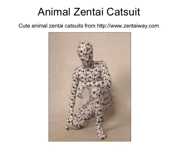 Animal Zentai CatsuitCute animal zentai catsuits from http://www.zentaiway.com