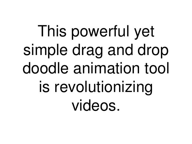 animated doodle video presentations