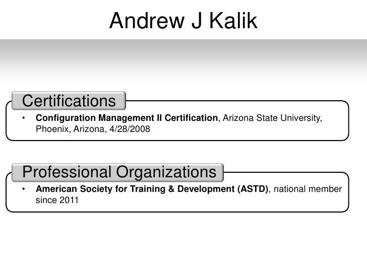 resume slideshow