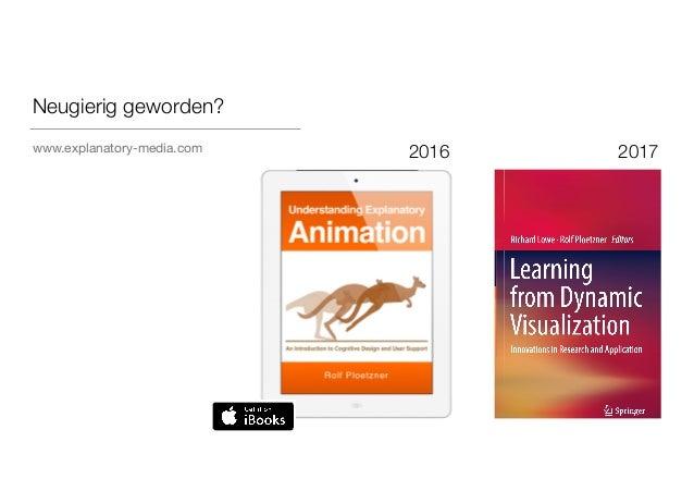 Animationen und 3D-Content – was ist bei der Gestaltung zu berücksichtigen? (Slides: Prof. Dr. Rolf Plötzner)