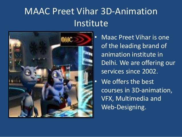 Animation Institutes In Delhi