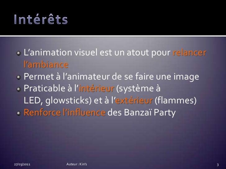 Animation lumineuse Slide 3