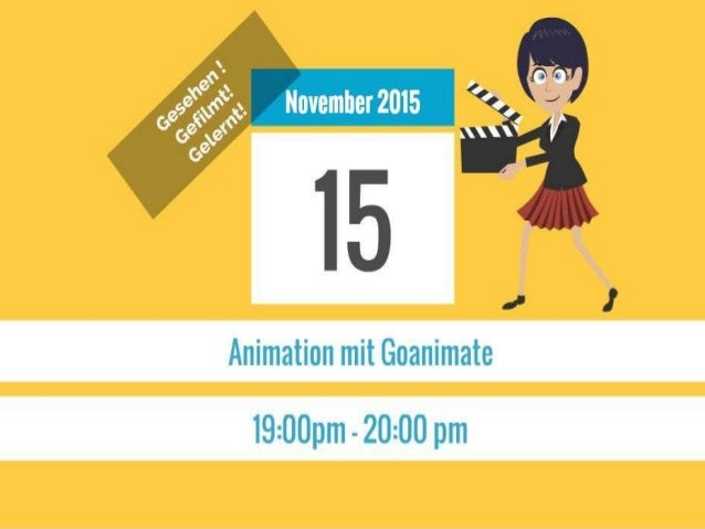 Video über Goanimate