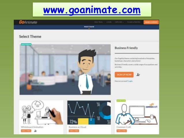 animation mit goanimate