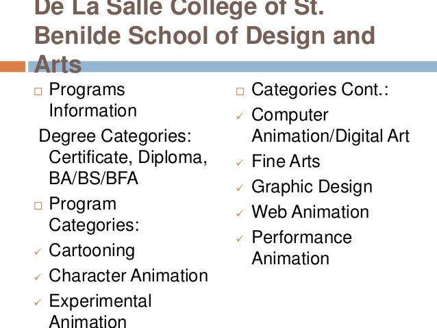 Animation Programs College