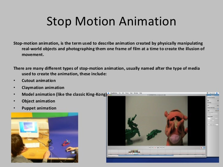 different types of animation