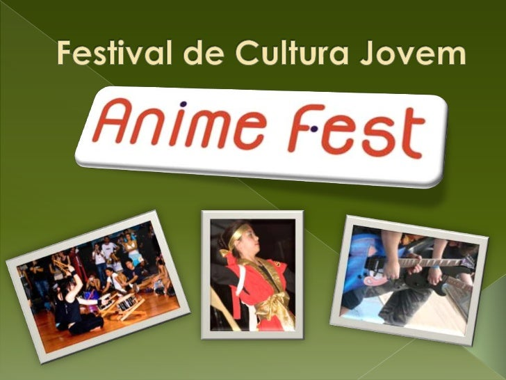 """SOBRE O FESTIVALO """"Anime Fest"""" é um festival de cultura eentretenimento jovem realizado em diversascidades do interior pau..."""