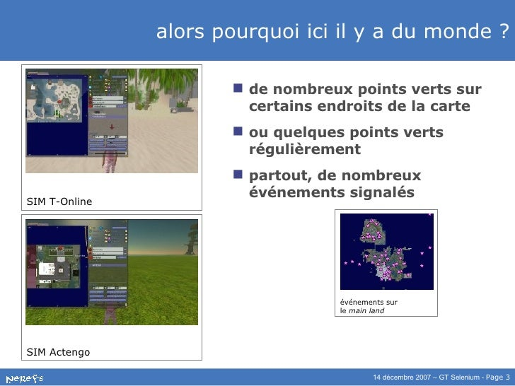 Animer son île Second Life Slide 3