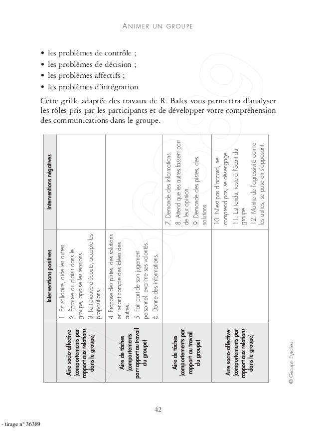 AN I M E R U N G R O U P E 42 ©GroupeEyrolles • les problèmes de contrôle ; • les problèmes de décision ; • les problèmes ...