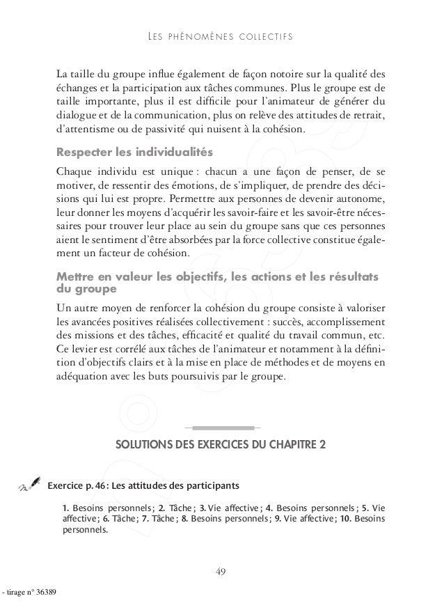 ©GroupeEyrolles 49 LE S P H É N O M È N E S C O L L E C T I F S La taille du groupe influe également de façon notoire sur l...