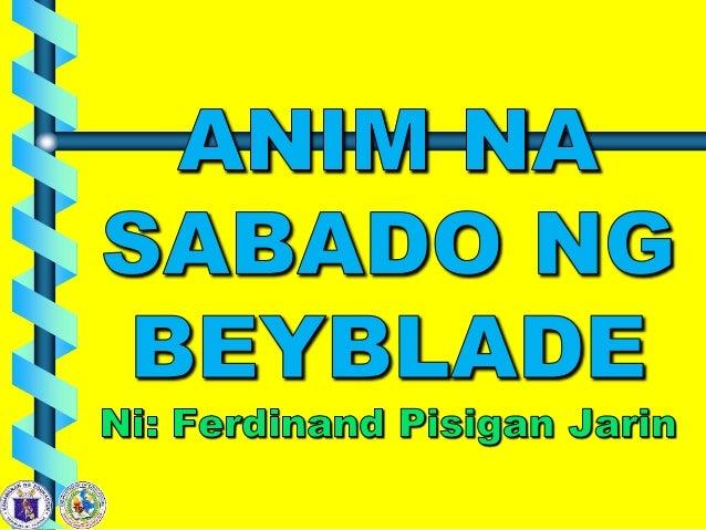 Anim na sabado ng beyblade Slide 2