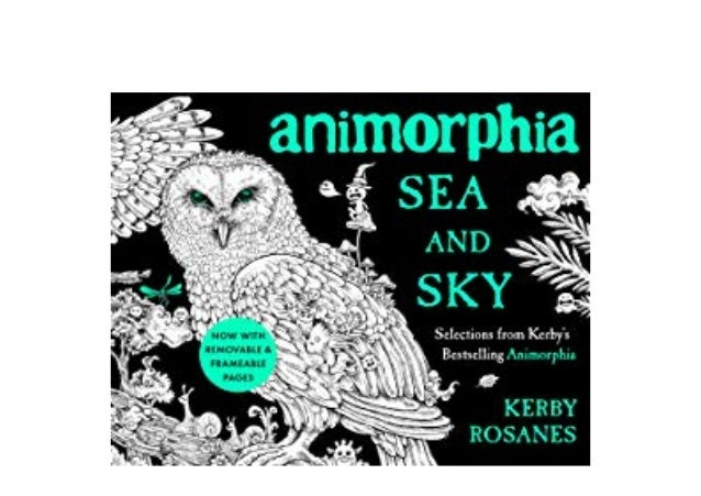 [R.E.A.D] LIBRARY Animorphia Sea and Sky Selections from