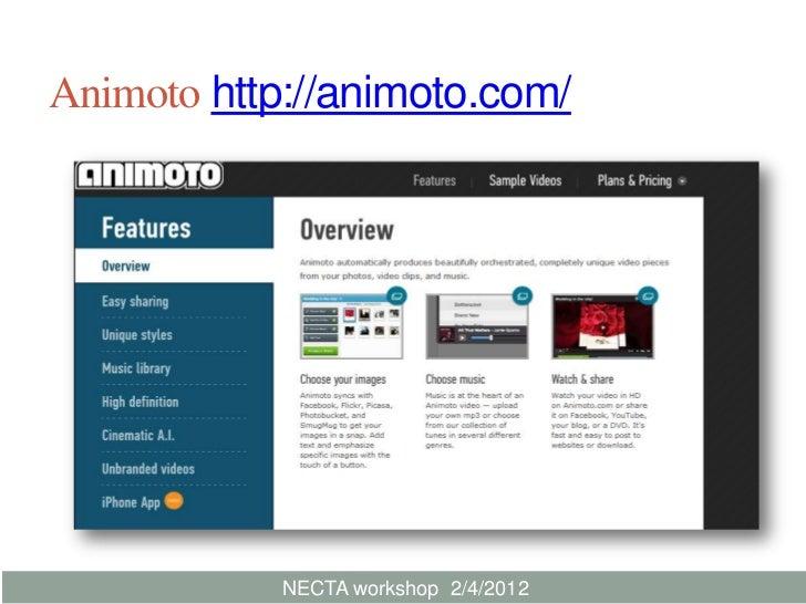 Animoto 0204 2012 Slide 3