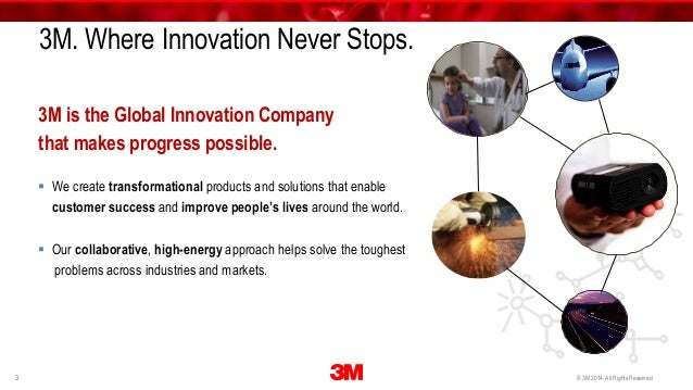 3m innovation 3m innovation (9 articles) 3m is a global science company that never stops inventing using 46 technology platforms,.
