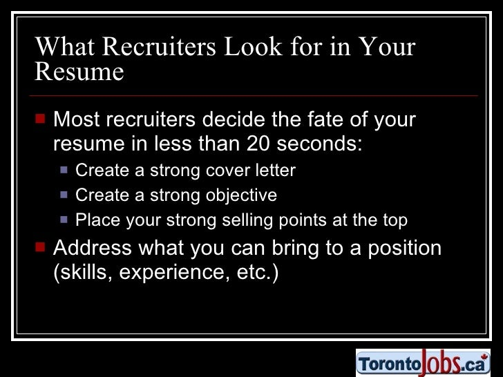 what do recruiters look for 28 images what should a