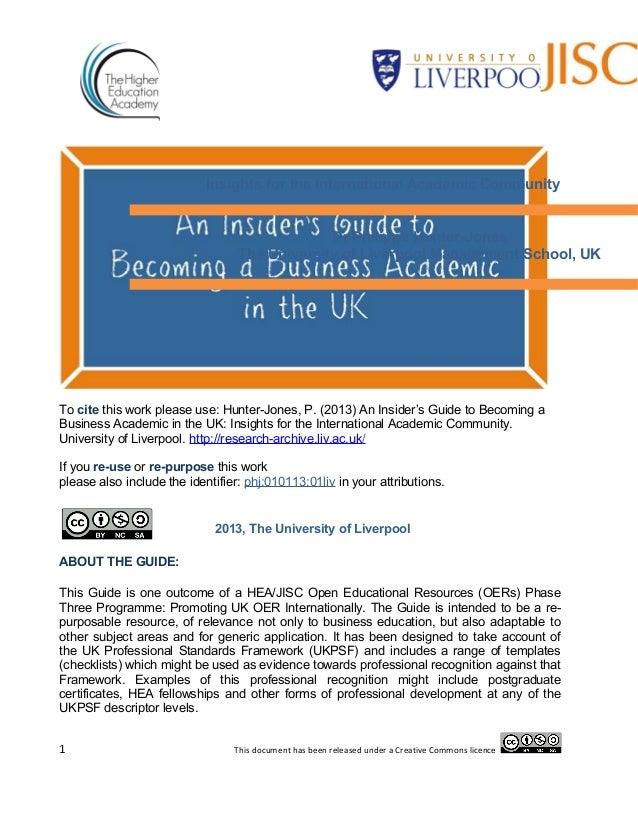 Insights for the International Academic Community                                               Dr Philippa Hunter-Jones  ...