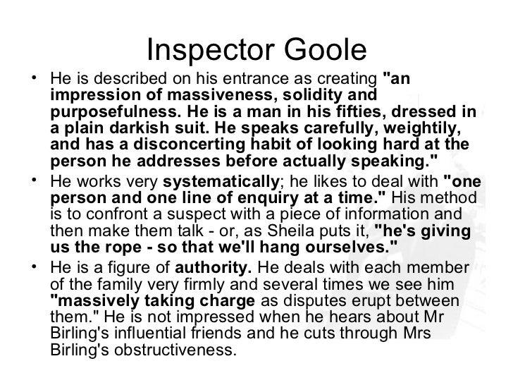 an inspector calls play