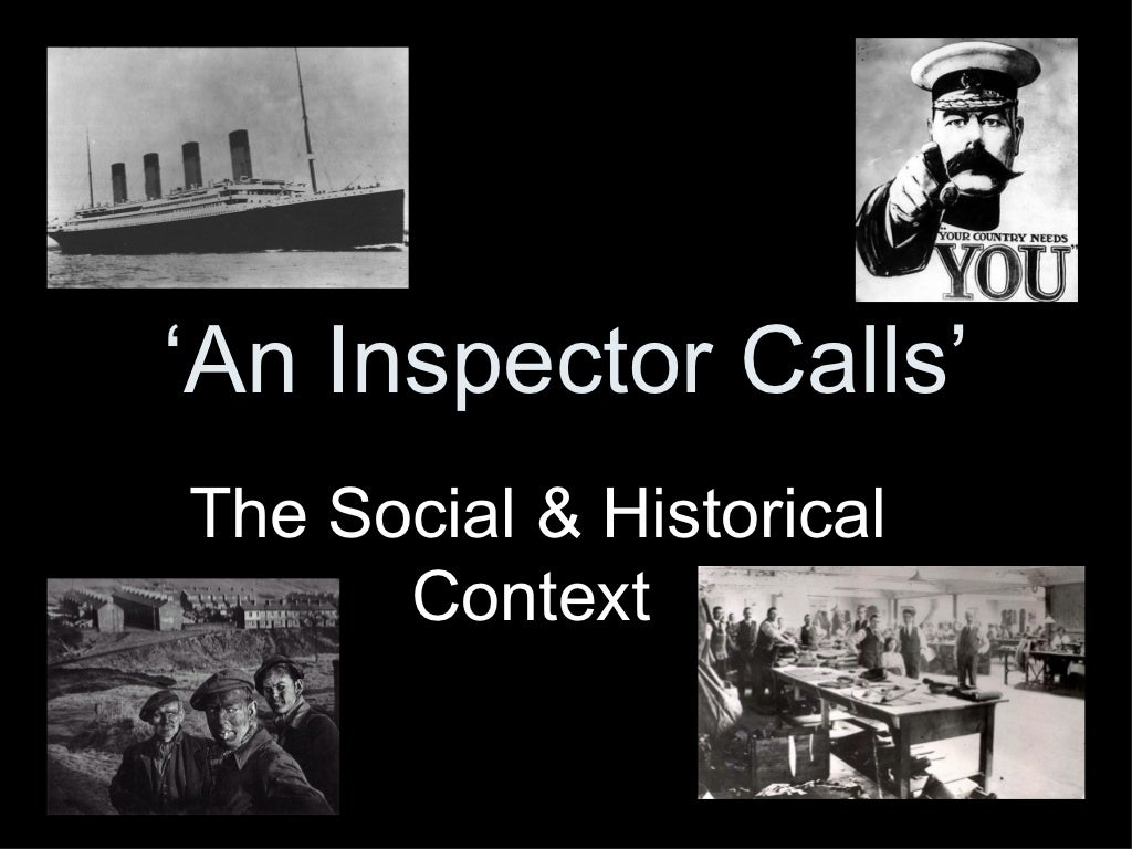an inspector calls revision Start studying an inspector calls revision learn vocabulary, terms, and more with flashcards, games, and other study tools.